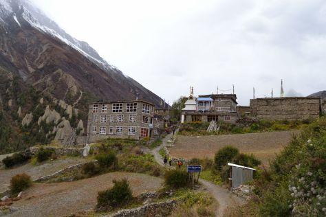 Entrada en Khangsar